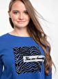 DeFacto Uzun Kollu Baskılı T-shirt